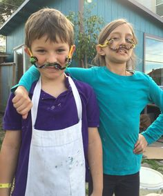 Mustache, Teaching Kids, Have Fun, Spirit, Studio, Big, How To Make, Moustache, Studios