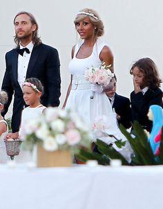 La boda de David Guetta  #boda #famosos