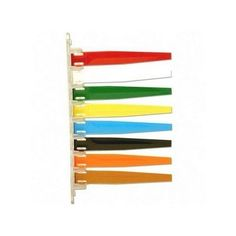 Exam room Signal, 8 Flags,Teal/GY/Steel BE/By/WE/BK/MVE/Sesy by Unimed-Midwest, Inc.. $35.58. Keep clinic procedures moving smoothly by indicating the status of an exam room with these color-coded signal flags. Set up your own color-coded signals for doctors and staff. Different-colored flags can show doctor in exam room, nurse and patient preparing for doctor, or x-rays being taken. Signal flags are made of high quality, scratch-resistant plastic and plexiglass and inclu...