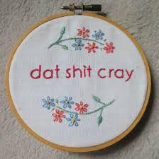 gangster cross stitch - Google Search