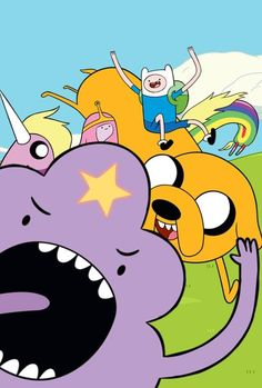 LSP photobomb! Adventure Time