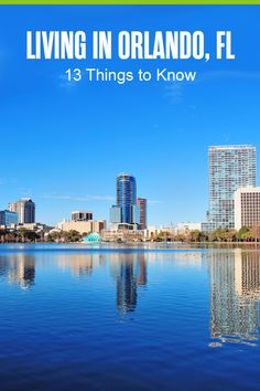 Want to live in Orlando? From the hot job market and vibrant LGBTQ community to the amazing theme parks, here are 13 things you need to know about Orlando! Visit Florida, Florida Living, Florida Vacation, Downtown Orlando, Orlando Florida, Best Places To Live, Great Places, Moving Overseas, Florida Adventures