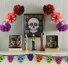 """Ready for a ghoul ol' time? Don't be scared! It's time to host the sweetest Day of the Dead party. Here's what you need to know! What is Day of the Dead? Day of the Dead (or Dia de los Muertos) celebrates the lives of loved ones who have passed.... <a class=""""arrow"""" href=""""http://www.kirklands.com/blog/how-to-host-the-sweetest-day-of-the-dead-party/"""">Read More</a>"""
