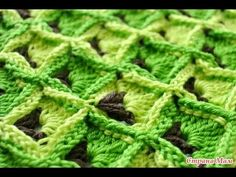 I propose to supplement my collection with another very beautiful two-color crochet pattern. The pattern is multicolored, noteworthy. The pattern is undoubtedly beautiful! Loops multiple of 10 + Tunisian Crochet Stitches, Crochet Stitches Patterns, Crochet Patterns For Beginners, Crochet Motif, Knitting Patterns, Modern Crochet Patterns, All Free Crochet, Bunt, Ravelry