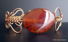 Pulseira Agata cobre