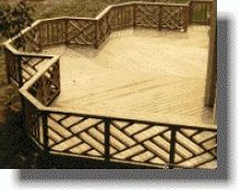 "A Chippendale style railing is one of the most beautiful designs for your sundeck. However, It is time consuming to build so contractors charge a premium.  We'll show you how to ""do it yourself""!  Even with no knowledge of how to build this railing, you can accomplish this task in less than 1 hour per section."