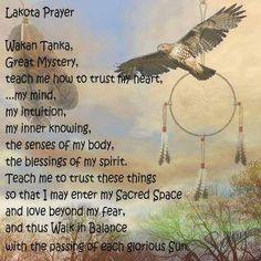 Lakota Prayer ~ Laugh Like We Are Having Fun