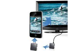 auvisio Kabelloses Videoübertragungs System von iPhone, iPad auf TV
