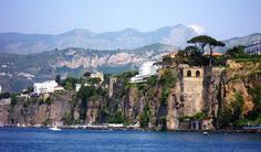 Sorrento, Italy  This is where our ferry left for Capri, pretty place!