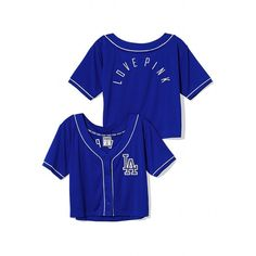 5518b87bc Victoria s Secret Los Angeles Dodgers Sequin Crop Baseball Top Dodgers  Jerseys