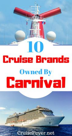 The parent company of Carnival owns 10 cruise brands. Here are all the cruise lines owned by Carnival Corporation. Cruise Packing Tips, Cruise Travel, Packing Tips For Travel, Cruise Vacation, Travel Hacks, Vacations, Packing Lists, Travel Essentials, Disney Travel