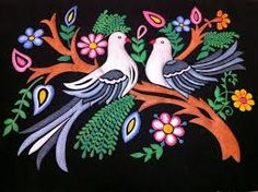 Make your own emboss painting in a simple way by referring the steps given in the post and drive your future in a better way by selling the crafts or gifting to your friends. Glass Painting Patterns, Glass Painting Designs, Paint Designs, Peacock Painting, Fabric Painting, Bird Drawings, Easy Drawings, Poster Rangoli, Emboss Painting