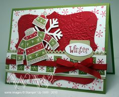 WMW Winter BRrrrr!!! by Wendybell - Cards and Paper Crafts at Splitcoaststampers