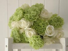 matrimonio colore verde acido fiori - Cerca con Google