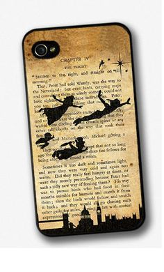 Peter Pan Tinkerbell Disney Book iPhone 4 4S 5 Case Cover Mobile Phone | eBay