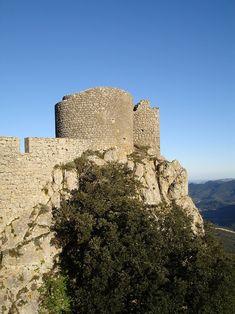 Château de Peyrepertuse - Vieux Donjon (Aude)