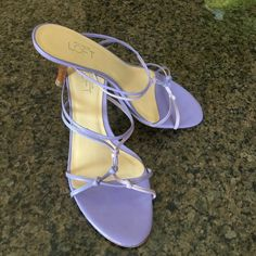 Ann Taylor sandals Get ready for grad parties and bridal showers in these cute sandals. Worn a handful of times, still in great condition. Heel is 2 1/2'. Comes from smoke free home. I don't have a box for them Ann Taylor Shoes Sandals