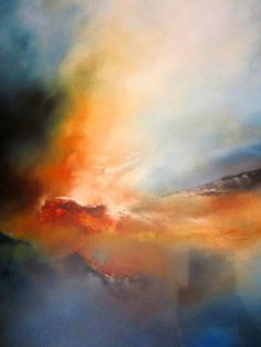 Abstract Landscape Oil Painting by SimonkennysPa . Abstract Landscape Oil Painting by SimonkennysPaintings on Etsy Abstract Oil, Abstract Canvas, Abstract Watercolor, Oil Painting On Canvas, Watercolor Landscape, Landscape Art, Landscape Paintings, Art Paintings, Art Photography