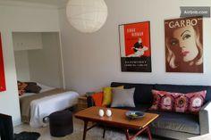 Studio flat in the heart of Sofo en Estocolmo Disponible desde 17 junio, julio y agosto. 7 noches 699 € 4 noches 22  +++