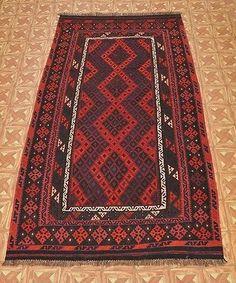 Home Décor Oriental design 6' x 10' Genuine Hand Woven Oriental Kilim Rug Carpet