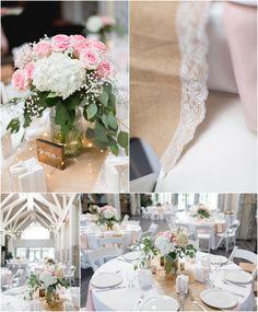 Baker Hall Reception | Wedding at The Norfolk Botanical Gardens Luke & Ashley Photography
