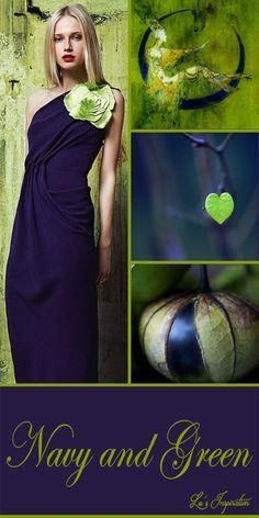Lu's Inspiration ღ Colour Schemes, Color Trends, Color Combinations, Color Blending, Color Mixing, Mood Colors, Green Colour Palette, Color Collage, Navy And Green