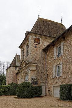 château de Dracy-le-Fort. Bourgogne