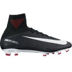 pretty nice f3d2b 8cf65 Sale Nike Mercurial SuperFly V FG Men s Soccer Cleats-Black-White-Dark Grey