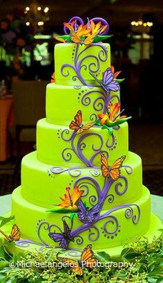 Very pretty wedding cake!