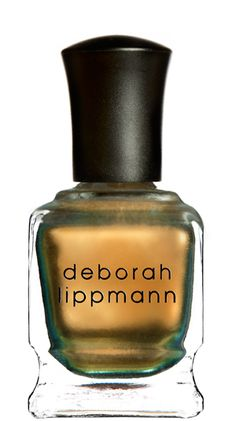 Warm Gold Nail Polish (oxidized copper teal - mirrored chrome) - Swagga Like Us - Deborah Lippmann