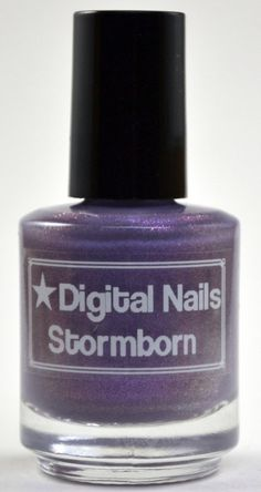 Stormborn : Digital Nails nail lacquer inspired by Game of Thrones by DigitalNails, $12.00