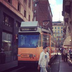 #italy #milano #tram #イタリア #ミラノ #日子 #旅行だったら良かったんですが出張です #トラム #路面電車