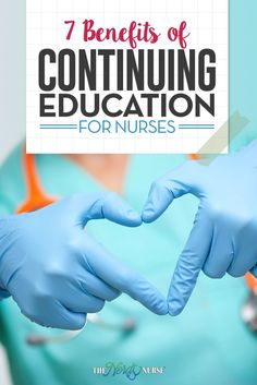 There are some nurses who think that after they graduate that the time for education has passed. They devalue the continuing education for nurses.