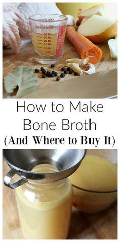 Looking for a nutrient-dense food to add to your diet? Try homemade bone broth or buy it from a quality supplier!