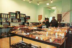 "Modern pastry shop at ""El Born"", Barcelona"