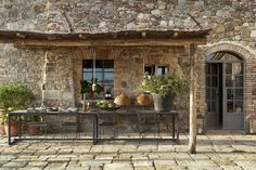 Decoration : Rustic Italian Decorating Ideas With Stones Material Rustic Italian Decorating Ideas Tuscany Designs' Old World Decorating Ideas' Italian Home Decor also Decorations