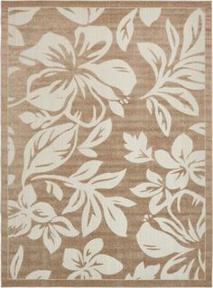 Beige 275cm X 365cm Transitional Indoor Outdoor Rug Area Rugs Au