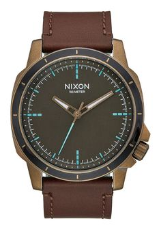 Ranger Ops Leather   Men's Watches   Nixon Watches and Premium Accessories