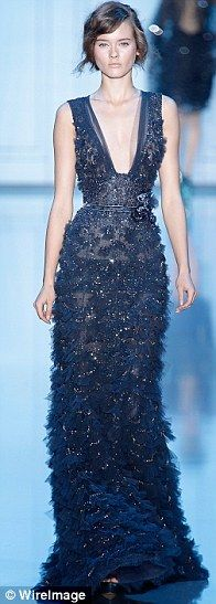 Elie Saab - it's sooo beautiful... When will I ever have the $ and occasion to wear something like this?!