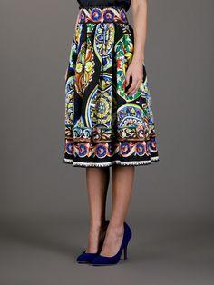 Dolce & Gabbana Full Pleated Skirt - Stefania Mode - Farfetch.com