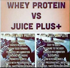 Why is Juice Plus+ Complete better then your average Protein?