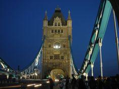 Tower Bridge by night - London, UK