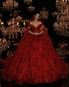 How to Choose the right color for a Wedding Gowns / The Highest color choice in Wedding gowns with complete guide. Quince Dresses, 15 Dresses, Pretty Dresses, Evening Dresses, Fashion Dresses, Red Ball Gowns, Red Gowns, Red Wedding Dresses, Bridal Dresses