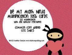 3rd grade Valentine Villains Math Mystery 599  Valentines Math