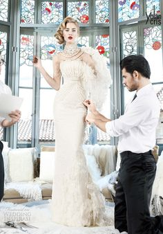 YolanCris 2013 Wedding Dresses — Couture-Couture Bridal Collection | Wedding Inspirasi
