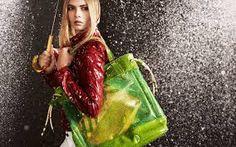 Burberry April Showers 2011 Campaign - Cara Delevigne