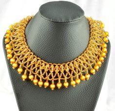 Free pattern for necklace Santa Barbara | Beads Magic