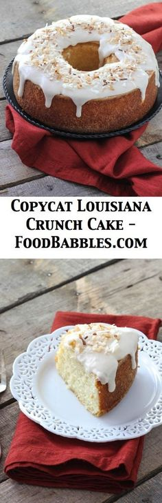 Louisiana Lemon Crunch Cake Recipe