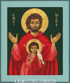 Browse through images in William Hart McNichols' St. Joseph with Child Jesus collection. Icons Images of St. Religious Images, Religious Icons, Religious Art, Catholic Art, Catholic Saints, William Hart, Jesus In The Temple, Byzantine Icons, Madonna And Child
