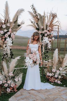 Seacliff House Gerringong Wedding - Gemaya + Tim - The Evoke Company Floral Wedding, Wedding Colors, Wedding Bouquets, Rustic Wedding, Wedding Dresses, Event Dresses, Long Dresses, Simple Dresses, Party Dresses